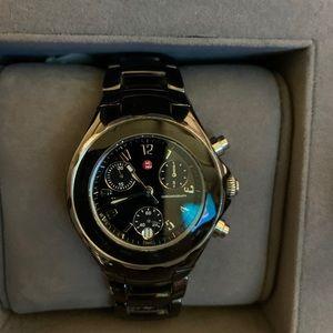 Michele Black Ceramic Watch